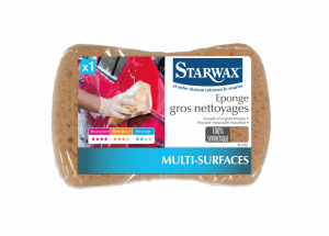 Éponge synthétique gros nettoyage - Starwax