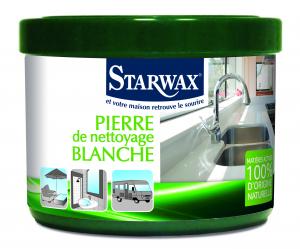 Pierre blanche de nettoyage - Starwax - Pot de 375 gr