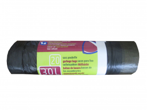 Sacs poubelle coulissant - Embal'sac - 30 L - x 20