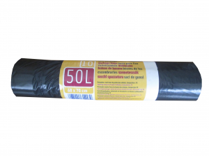 Sacs poubelle coulissant - Embal'sac - 50 L - x 10