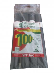 Sacs poubelle - Vit'sac - 100 L - x 40