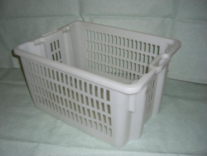 Caisse gerbable emboîtable - 50 L - Ajourée