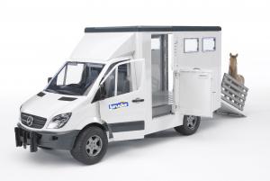Camion de transport de bétail - Mercedes Benz
