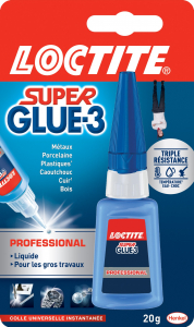 Colle - Loctite - Superglue 3 - Professional - 20 g