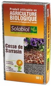 COSSE DE SARRASIN 50 L - SOLABIOL