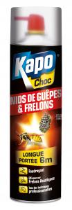 Aérosol longue portée spécial nids de guêpes - Kapo - 500 ml