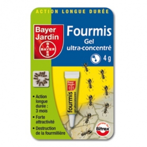 ANTI-FOURMIS GEL TUBE 4G  -  BAYER JARDIN