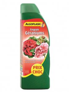 Engrais géraniums - Algoflash - 1 L