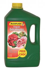 Engrais géraniums - Algoflash - 2,5 L