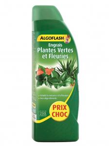 Engrais plantes vertes et fleuries - Algoflash - 1 L