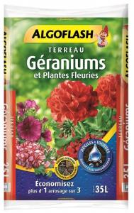 Terreau géraniums - Algoflash - 35 L