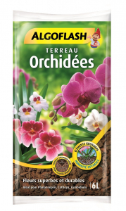 Terreau orchidées - Algoflash - 6 L
