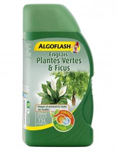 Engrais plantes vertes - Algoflash - 250 ml