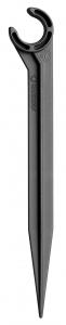 Supports de tuyau 13 mm pour arrosage goutte-à-goutte GARDENA - Lot de 5