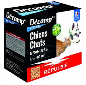 Répulsif pour chien/chat Décamp' en granulés CREA - 400 g