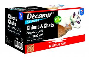 Répulsif pour chien/chat Decamp' en granulés CREA - 1 kg