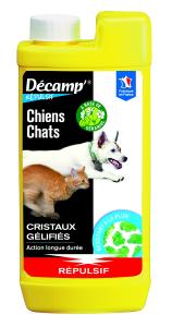 Répulsif pour chien/chat Décamp' en cristaux gel CREA - 500 g