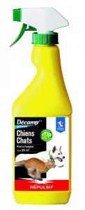 Répulsif chien/chat Décamp pulvérisateur CREA - 500 ml