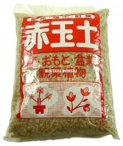 Substrat Akadama grain petit - Mistral Bonsaï - 2 L