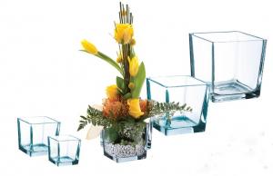 Vase carré - Horticash Fourn - 7,5x7,5x7,5 cm