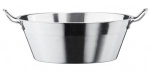 Bassine en inox pour confiture - Le Parfait - 38 cm