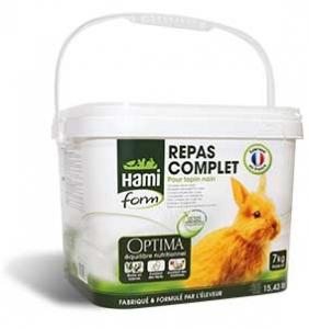 Repas complet pour lapin nain - Hamiform - 7 kg