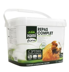 Repas complet pour cochon d'inde - Hamiform - 7 kg