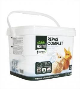 Repas complet pour lapin Toy et jeune lapin - Hamiform - 7 kg