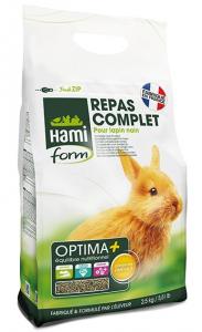 Repas complet pour lapin nain - Hamiform - Optima + - 2.5 kg