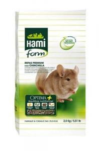 Repas complet pour chinchilla - Hamiform - Optima + - 2.5 kg