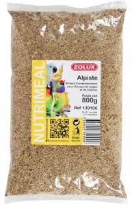 Graines Alpiste Zolux 800 g - Aliment complémentaire pour oiseaux de cages et de volières