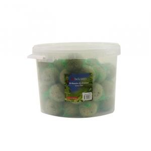 Boules de graisse pour oiseaux de jardin - Belcanto - avec filet - 50x90 gr