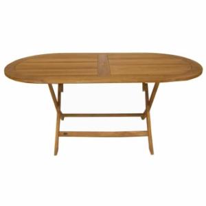 Table ovale - Basculante - 180 x 90 cm