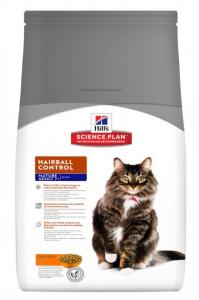 Aliment chat Science Plan Feline Mature Adult 7+ Hairball Control au Poulet - Hill's - 1,5 Kg