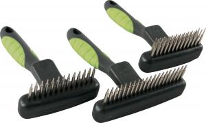 Etrille rétractable double 13 dents longues/12 courtes Zolux