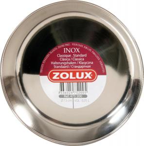 Bol inox pour chat 13 cm Zolux