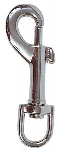 Mousqueton à pompe en métal Zolux - 80 mm
