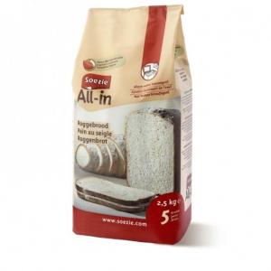Farine All-In pain au seigle - Soezie - 2,5 kg