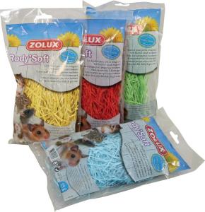 Lit douillet Rody'Soft couleur 25 g pour rongeurs - Zolux