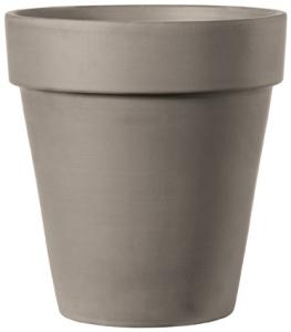 Vase Alto - Deroma - grafite - 40 cm