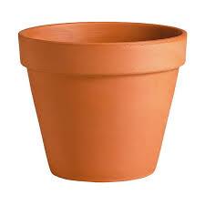 Pot horticole en terre cuite - 31 cm