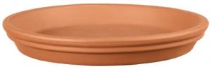 Soucoupe ronde horticole - Deroma - terre cuite - 25 cm
