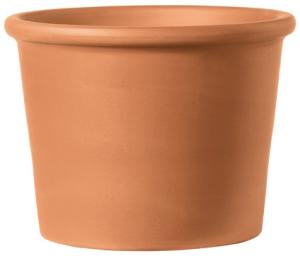 Vase Cylindrique - Deroma - terre cuite - 28 cm