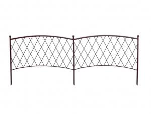 Bordure à planter métallique - Classic Metal Border - 100 x 40 cm
