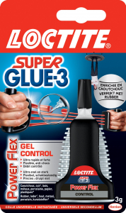 Colle - Loctite - Superglue 3 - Power Flex control - 3 g