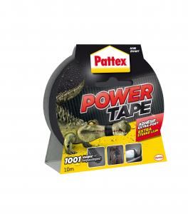 Adhésif extra fort - Pattex - Power Tape - Noir - 10 m