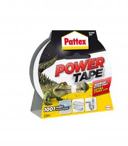 Adhésif extra fort - Pattex - Power Tape - Blanc - 10 m