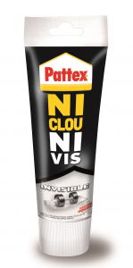 Colle - Pattex  - Ni clou Ni vis - Invisible - 200 ML