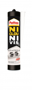 Colle - Pattex  - Ni clou Ni vis - Invisible - 310 ML