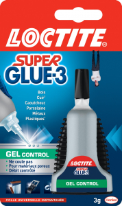 Colle - Loctite - Superglue 3 - Gel control - 3 g